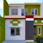 10 Desain Rumah Dengan Perpaduan Warna Cerah