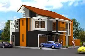 10 desain rumah dengan perpaduan warna cerah rumah impian