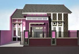 10 Desain Rumah Dengan Perpaduan Warna Cerah 4