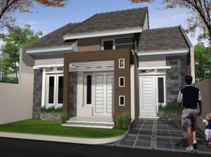 10 Desain Rumah Dengan Perpaduan Warna Cerah 7