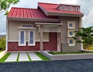 10 Desain Rumah Dengan Perpaduan Warna Cerah 9