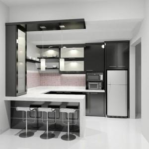 10 Gambar Kitchen Set Minimalis Terpopuler 3