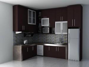 10 Gambar Kitchen Set Minimalis Terpopuler 7