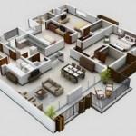 12 Desain Rumah Minimalis 3 Kamar Tidur Praktis