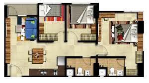 12 Desain Rumah Minimalis 3 Kamar Tidur Praktis 7