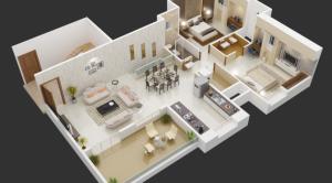 18 Desain Rumah 3D Minimalis Modern 13