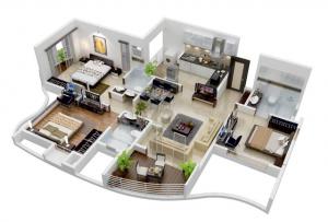 18 Desain Rumah 3D Minimalis Modern 15