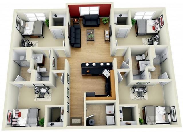18 desain rumah 3d minimalis modern rumah impian