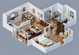 18 Desain Rumah 3D Minimalis Modern 2