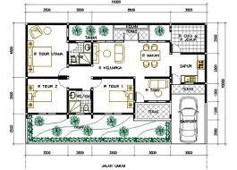 11 Denah Rumah 3 Kamar Tidur Impian 1