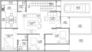 11 Denah Rumah 3 Kamar Tidur Impian 9