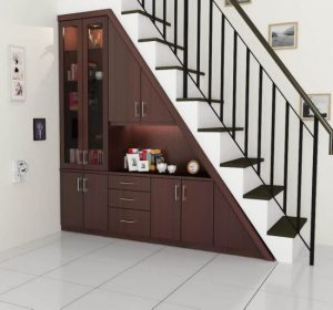 11 Fungsi Dibawah Tangga Rumah Unik dan Simple6