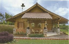 12 Aneka Model Rumah Bambu Jawa Barat Menarik1