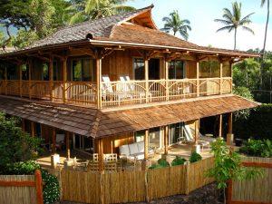 12 Aneka Model Rumah Bambu Jawa Barat Menarik12