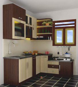 14 Model Dapur Minimalis Ruang Sempit Terbaru4