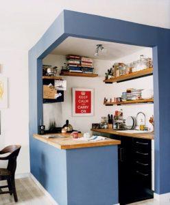 14 Model Dapur Minimalis Ruang Sempit Terbaru8