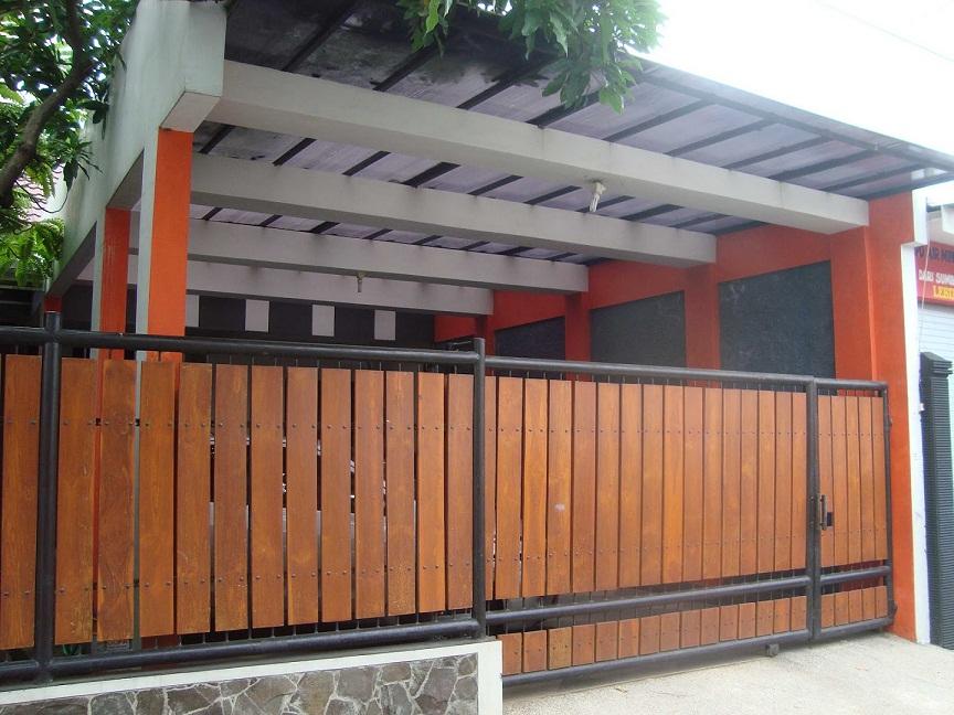 16 desain pagar kayu kreatif dan menarik rumah impian