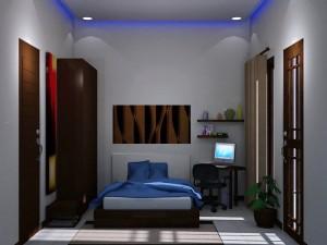 17 Kamar Tidur Minimalis Bagus dan Menarik 12