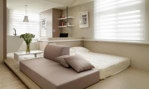 17 Kamar Tidur Minimalis Bagus dan Menarik 3