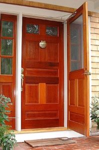 contoh warna cat pintu rumah