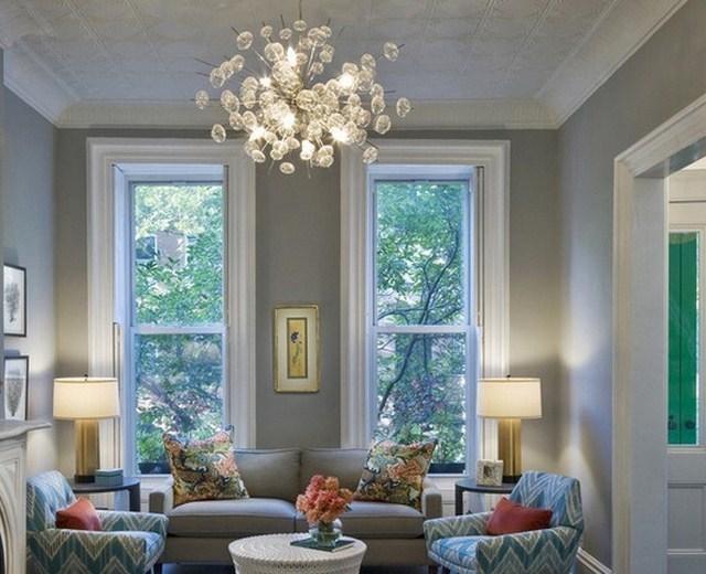 10 contoh lampu hias ruang tamu minimalis rumah impian