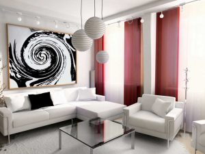 10 Contoh Lampu Hias Ruang Tamu Minimalis8