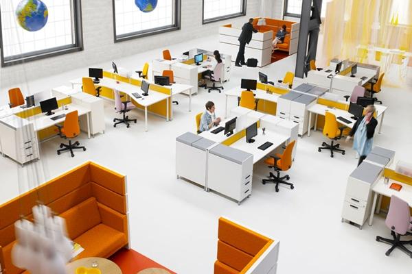 11 Denah Tata Ruang Kantor Minimalis Keren | RUMAH IMPIAN