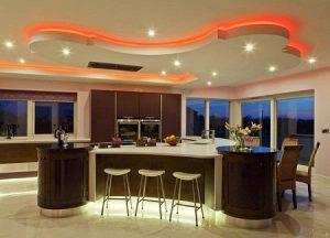 13 Model Plafon Minimalis Dapur Keren dan Menarik2