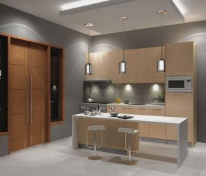 plafon gypsum dapur minimalis