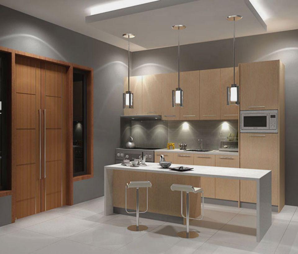 Contoh Gambar Plafon Gypsum Kamar Tidur  13 model plafon minimalis dapur keren dan menarik rumah impian