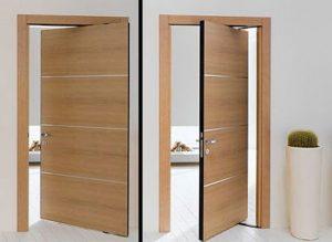 14 Desain Bentuk Pintu Rumah Minimalis Indah10