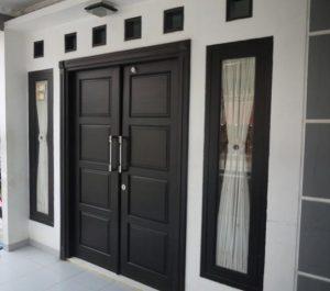 14 Desain Bentuk Pintu Rumah Minimalis Indah11