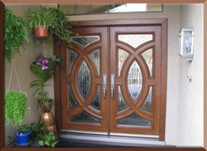 14 Desain Bentuk Pintu Rumah Minimalis Indah13