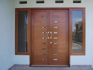 14 Desain Bentuk Pintu Rumah Minimalis Indah3