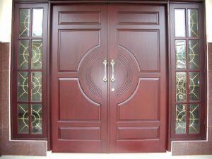 14 Desain Bentuk Pintu Rumah Minimalis Indah4