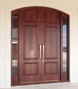 14 Desain Bentuk Pintu Rumah Minimalis Indah6