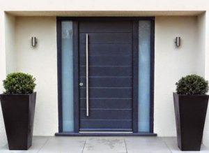 14 Desain Bentuk Pintu Rumah Minimalis Indah7