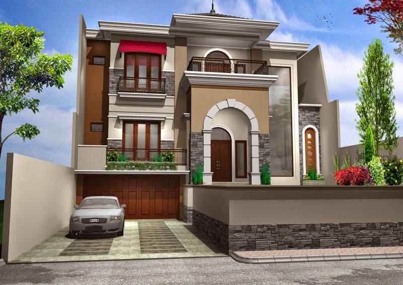 Desain Rumah Mewah Eropa 1 Lantai  14 model rumah mewah minimalis indah rumah impian