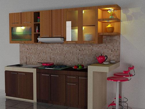 16 gambar dapur cafe ukuran kecil unik rumah impian for Kitchen set lurus