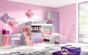 17 Cat Kamar Anak Perempuan Simple dan Cantik1