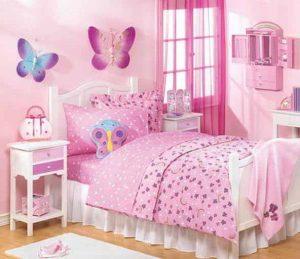 17 Cat Kamar Anak Perempuan Simple dan Cantik10