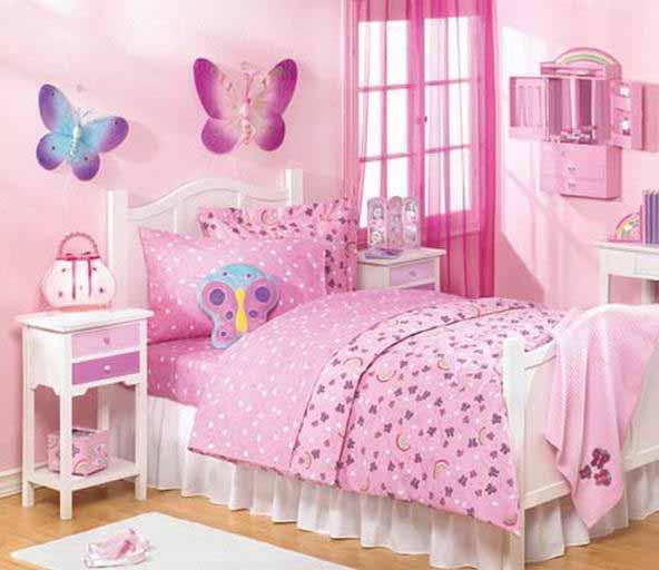Kombinasi Warna Cat Kamar Anak Perempuan 17 cat kamar anak perempuan simple dan cantik rumah impian