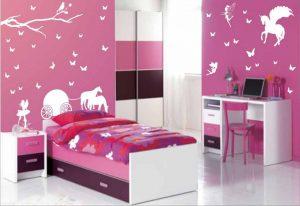 17 Cat Kamar Anak Perempuan Simple dan Cantik2