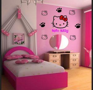 17 Cat Kamar Anak Perempuan Simple dan Cantik8