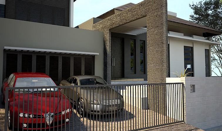 10 gambar garasi mobil rumah sederhana rumah impian