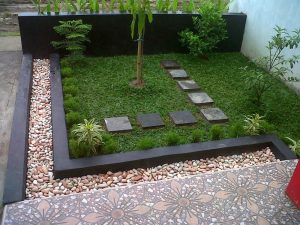 12 Desain Taman Rumah Minimalis Modern1