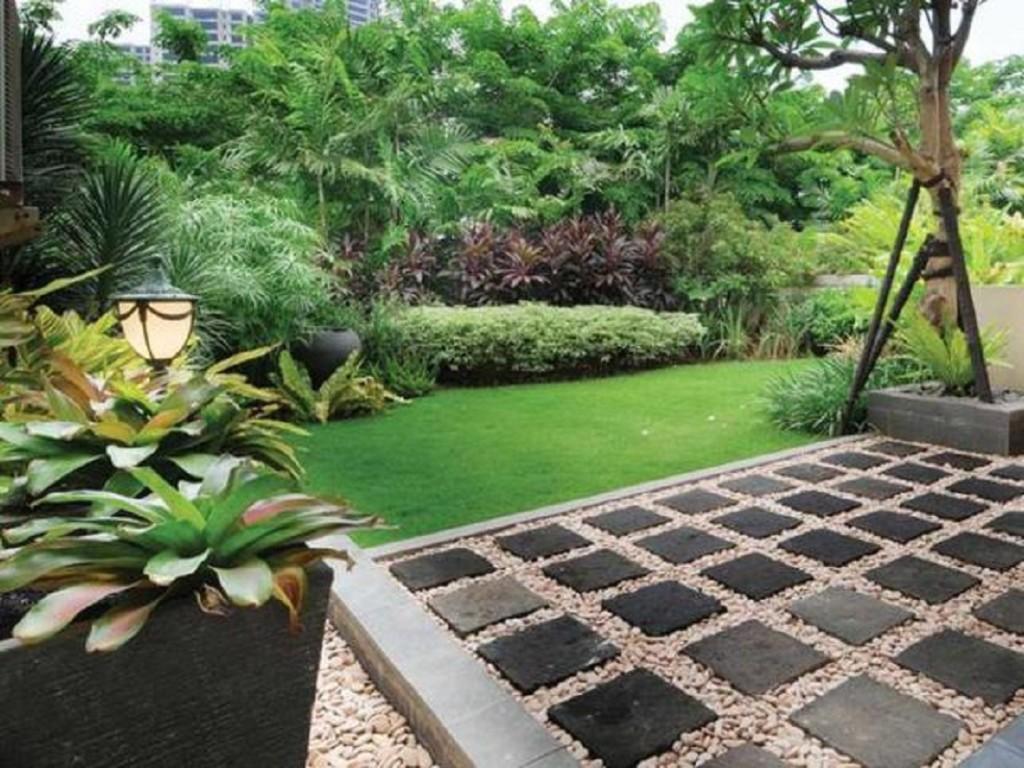 Jurnal Desain Taman Rumah Tinggal Destaman