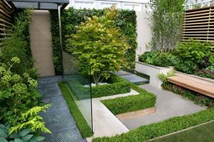 12 Desain Taman Rumah Minimalis Modern2