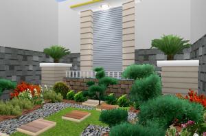 12 Desain Taman Rumah Minimalis Modern3