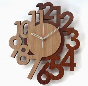 13 Desain Cara Membuat Jam Dingding Kayu Unik1